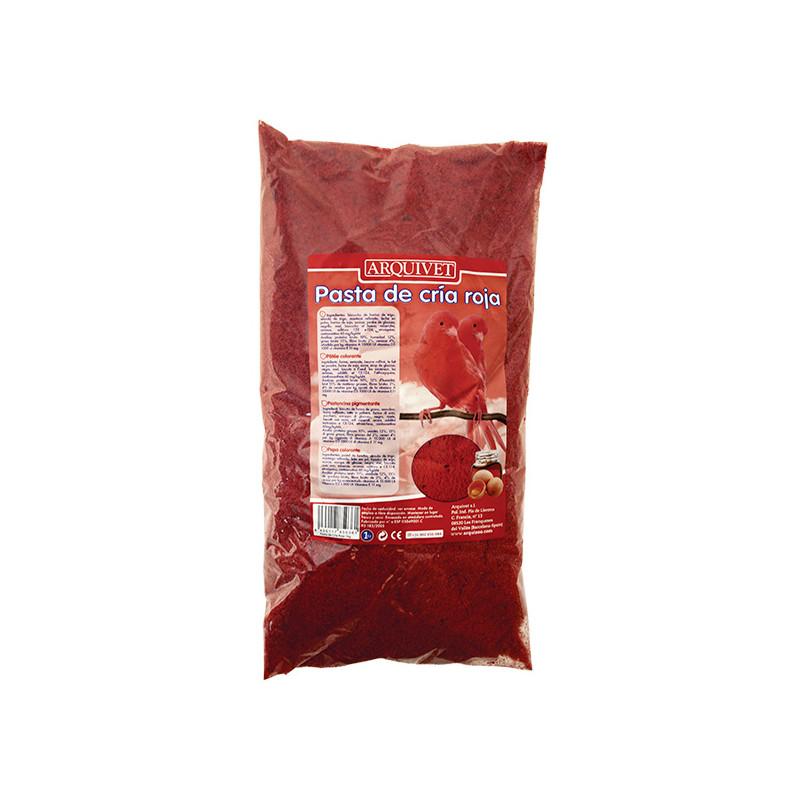 Pasta de cr a roja for Cria de mojarra roja en estanques