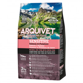Arquivet Dog Sensitive / Salmón y Patatas